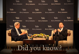 YPPS Sets the Stage for Kerry Initiative and Yale Climate Conference